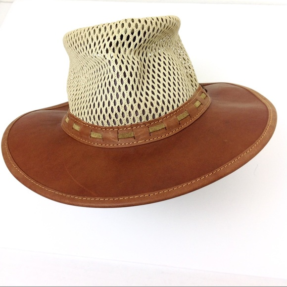 Rogue Outdoor Gear Leather Mesh Breezy Hat